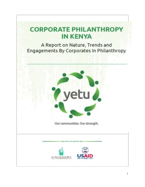 Corporate Philanthropy In Kenya